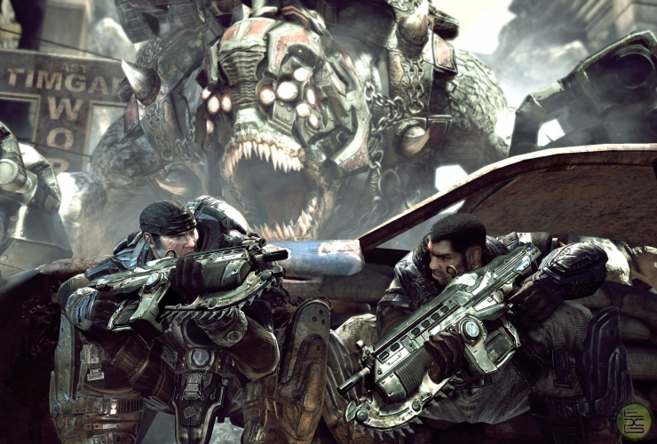 In Gears 2, controlling the Brumak was a reward for the player.